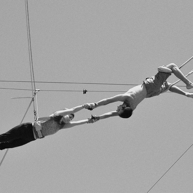 HOW FLYING ON A TRAPEZE HELPED ME DEFY MY AGE